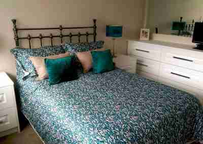 White traditional bedroom in north notts