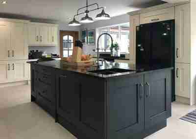 Classic traditional shaker kitchen in North Notts