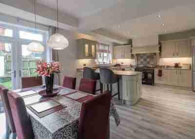 Beautiful shaker kitchen in West Bridgeford