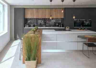 Stunning true handleless kitchen in Beeston Notts