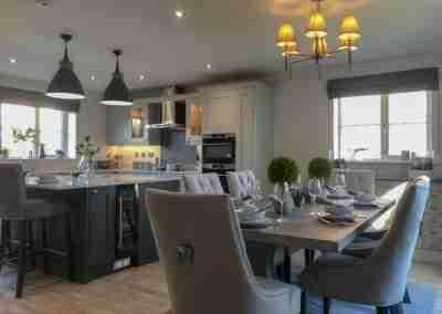 Dove grey & graphite luxury shaker kitchen