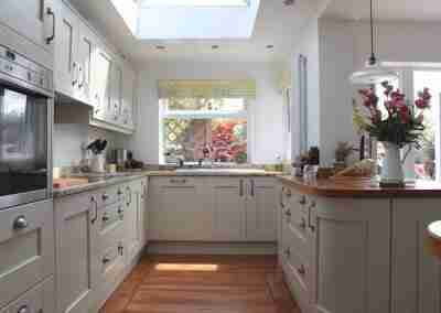 Classic shaker style kitchen in North Notts