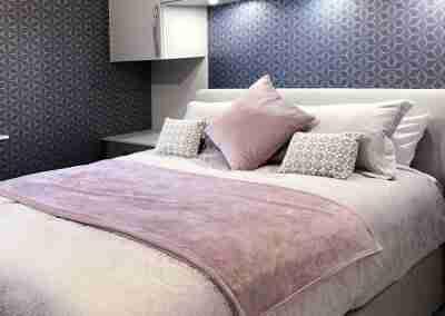Beautiful modern bedroom in West Bridgford