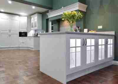Traditional kitchen extension